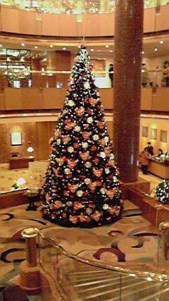 ベイシェラトンのクリスマスツリー♪